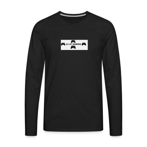 AJ AT GAMING GAMER - Men's Premium Long Sleeve T-Shirt