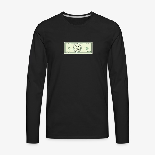 The Hundo tee - Men's Premium Long Sleeve T-Shirt