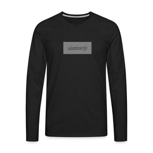 salamiworsje kleren - Men's Premium Long Sleeve T-Shirt