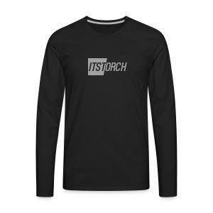 ItsTorch simple logo - Men's Premium Long Sleeve T-Shirt