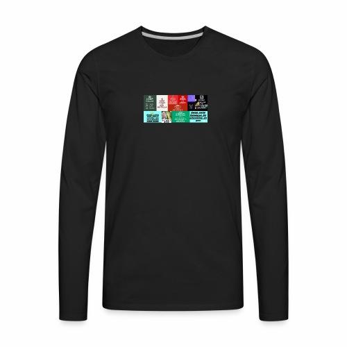 meme colection - Men's Premium Long Sleeve T-Shirt