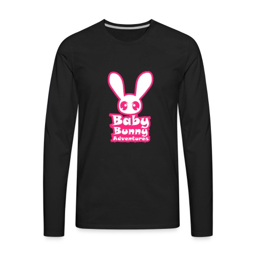 babybunnyadventureslogo - Men's Premium Long Sleeve T-Shirt