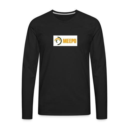 Meepo Board Black Tshirt - Men's Premium Long Sleeve T-Shirt
