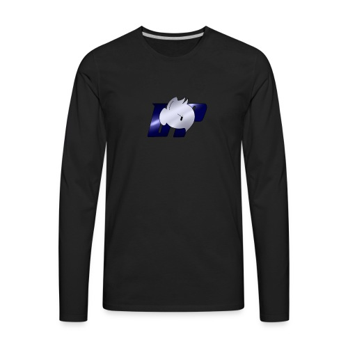 Daddy Pone logo - Men's Premium Long Sleeve T-Shirt