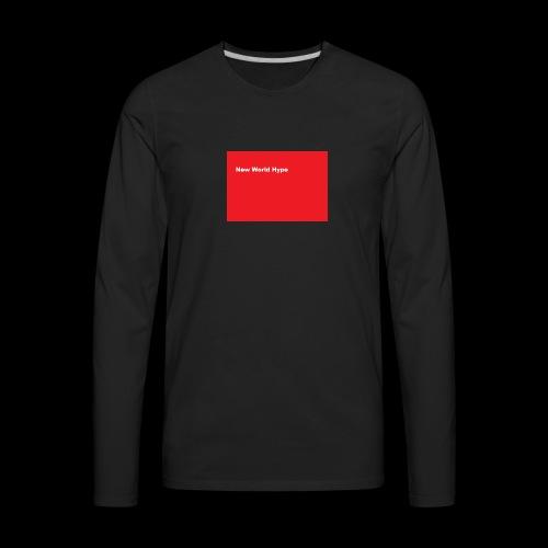 New World hype Supreme - Men's Premium Long Sleeve T-Shirt