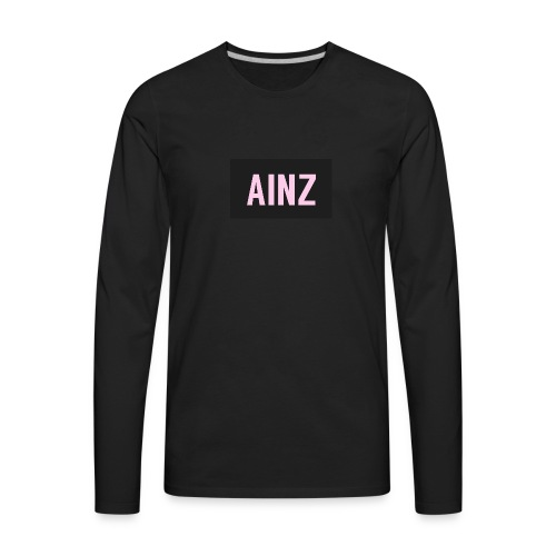 Ainz merch - Men's Premium Long Sleeve T-Shirt