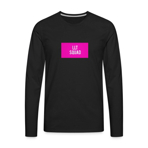 LLT - PINK LLT SQUAD - Men's Premium Long Sleeve T-Shirt