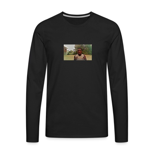 this is b from n&b crowend kings - Men's Premium Long Sleeve T-Shirt