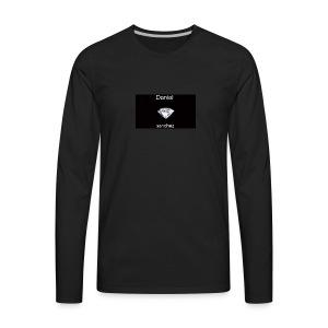 daniel merch - Men's Premium Long Sleeve T-Shirt