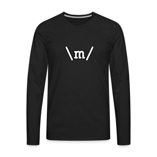 Metal Emote 2 - Men's Premium Long Sleeve T-Shirt