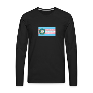 Transgender Coast Guard - Men's Premium Long Sleeve T-Shirt