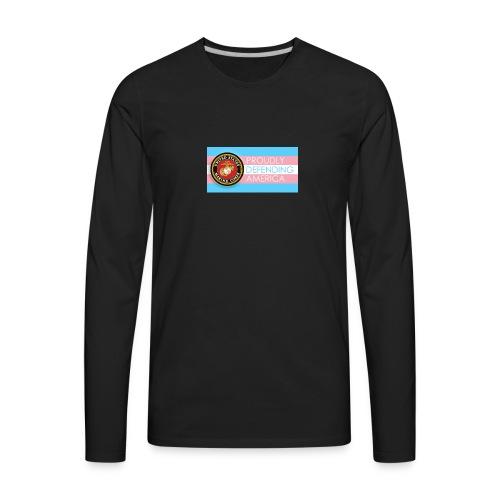 Transgender Marine - Men's Premium Long Sleeve T-Shirt