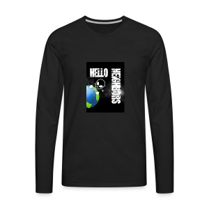 Hello Neighbors - Men's Premium Long Sleeve T-Shirt
