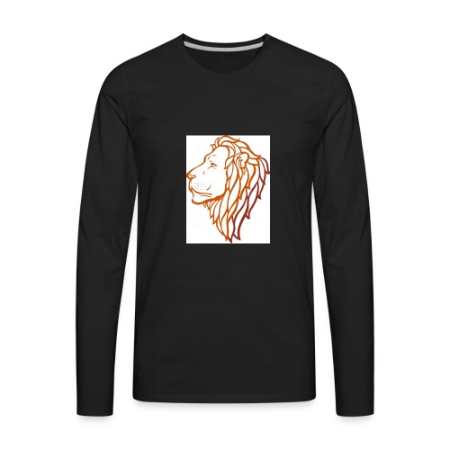 Lion - Men's Premium Long Sleeve T-Shirt
