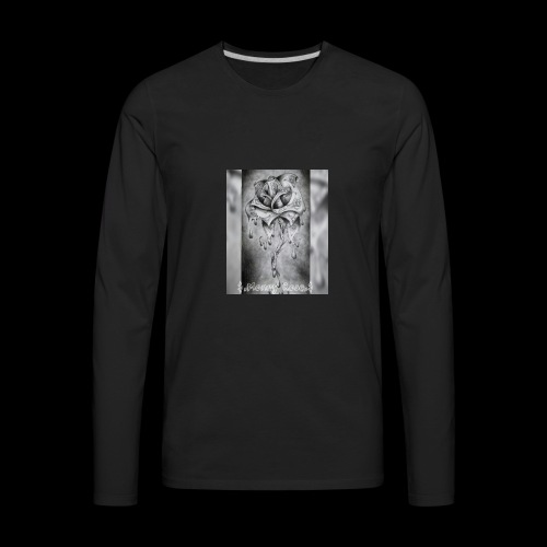 money rose - Men's Premium Long Sleeve T-Shirt
