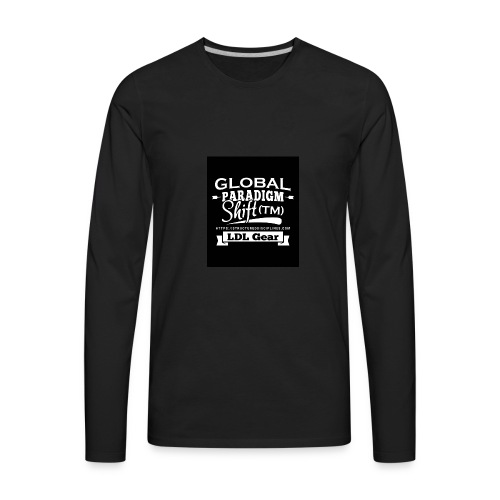 Global Paradigm Shift - Men's Premium Long Sleeve T-Shirt