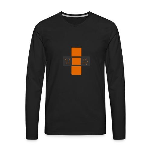 bloggingaid-icon - Men's Premium Long Sleeve T-Shirt