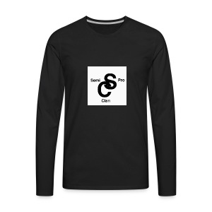 semiproclanlogo - Men's Premium Long Sleeve T-Shirt
