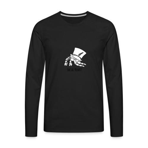 SocialHermit - Men's Premium Long Sleeve T-Shirt