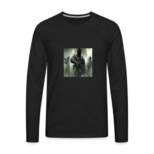 My Youtube Logo - Men's Premium Long Sleeve T-Shirt