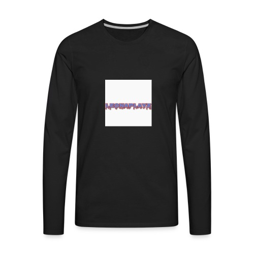 LeonaPlayz Design - Men's Premium Long Sleeve T-Shirt