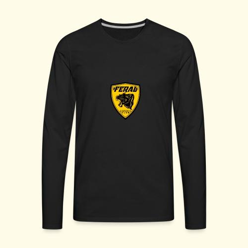 FERAL_EC_Logo - Men's Premium Long Sleeve T-Shirt