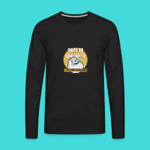 lanparty_singleplayer_meme - Men's Premium Long Sleeve T-Shirt