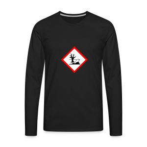 danger for the environment - Men's Premium Long Sleeve T-Shirt