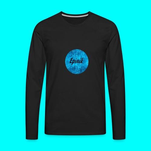 Epinik Logo - Men's Premium Long Sleeve T-Shirt