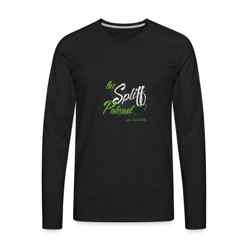 The Spliff Potcast - Logo - Men's Premium Long Sleeve T-Shirt