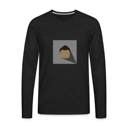 Logo Only - Men's Premium Long Sleeve T-Shirt