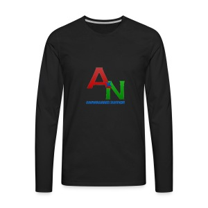 Awwsassin Nation - Men's Premium Long Sleeve T-Shirt