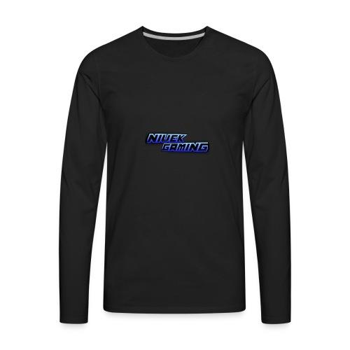 NIVEK Gaming Logo - Men's Premium Long Sleeve T-Shirt