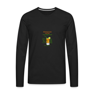 Schlong Island Iced Tea - Men's Premium Long Sleeve T-Shirt