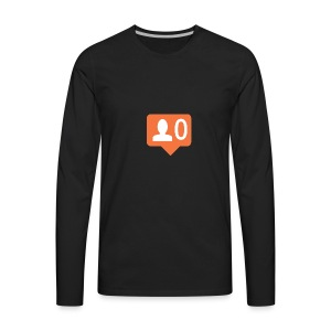 No Followers - Men's Premium Long Sleeve T-Shirt