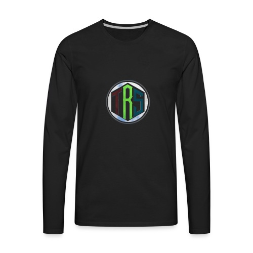 Three Ribbon Studios Crew - Men's Premium Long Sleeve T-Shirt