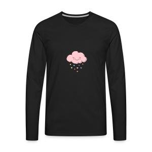 Raining Hearts - Men's Premium Long Sleeve T-Shirt
