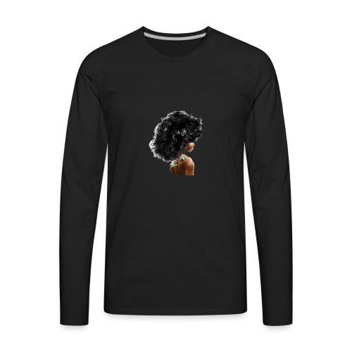 The Black Girl Experience - Men's Premium Long Sleeve T-Shirt