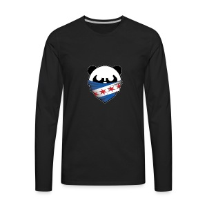 EDMPanda Logo - Men's Premium Long Sleeve T-Shirt