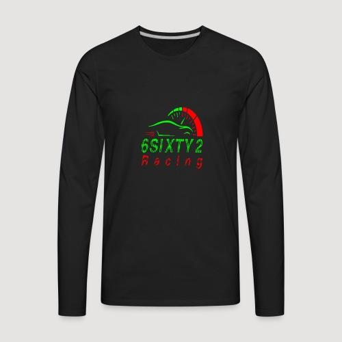 6sixty2 Racing3 MAIN PNG - Men's Premium Long Sleeve T-Shirt