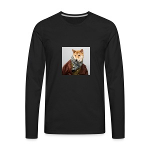 doge shirt - Men's Premium Long Sleeve T-Shirt