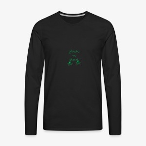 Grown on greens - Men's Premium Long Sleeve T-Shirt