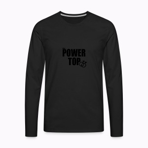 100% Power Top - Men's Premium Long Sleeve T-Shirt