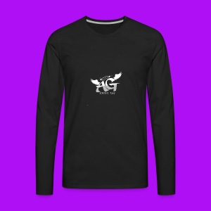 Almighty Gang Logo - Men's Premium Long Sleeve T-Shirt