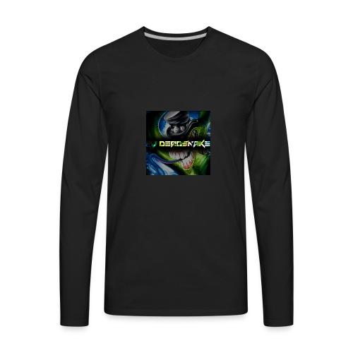DJDEADSNAKE one of a kind sweatshirt - Men's Premium Long Sleeve T-Shirt