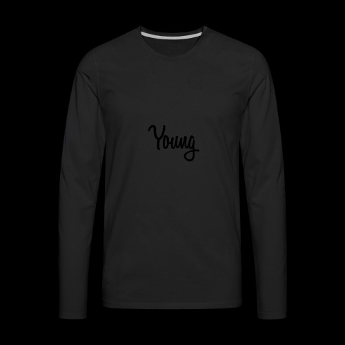 Young Black Logo - Men's Premium Long Sleeve T-Shirt