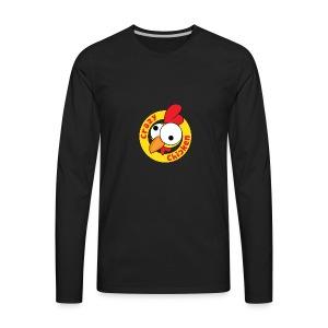 CrazyChicken Hoodie - Men's Premium Long Sleeve T-Shirt