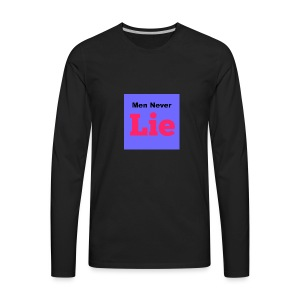 actorsneverlie2 - Men's Premium Long Sleeve T-Shirt
