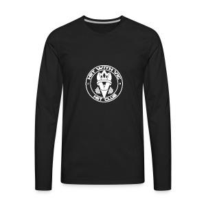 QueenV HIIT Club White - Men's Premium Long Sleeve T-Shirt