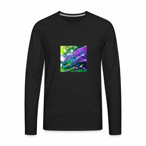 Camera Chameleon - Men's Premium Long Sleeve T-Shirt